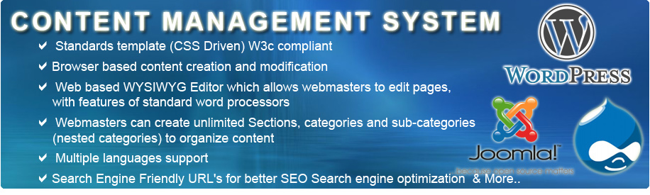 Content Management Website Development